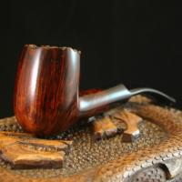 Smooth Rounded Briar Pipe