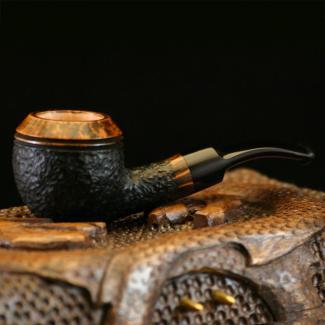 Big Bowl Rhodesian Tobacco Pipe