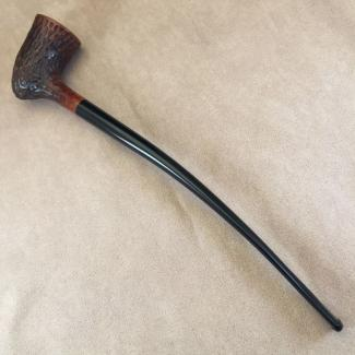 Estate Rustic Churchwarden Tobacco Pipe