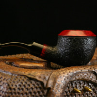 Red Rhodesian Briar Tobacco Pipe