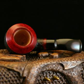 Red Rhodesian Briar Tobacco Pipe