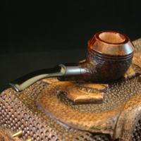 Handmande Rhodesian Tobacco Pipe - 4 Mile Pipe
