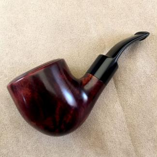 Refurbished Smooth Tobacco Pipe
