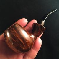 Bent Egg Handmade Briar Pipe