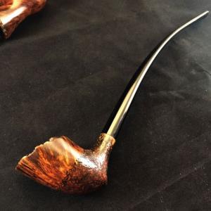 Handmade Rustic Churchwarden Tobacco Pipe