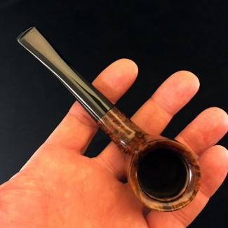 Compact Billiard Estate Tobacco Pipe