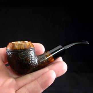 Handmade Rhodesian Briar Tobacco Pipe