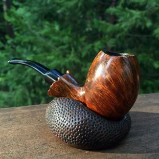 Brown Dimpled Pipe Rest