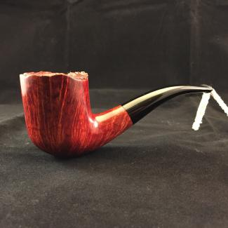 Smooth freehand tobacco pipe