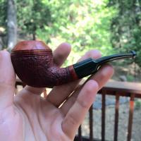 Bent Rhodesian Tobacco Pipe