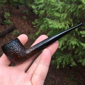 Rustic Poker Tobacco Pipe