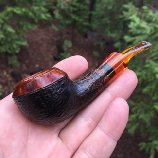 Compact Rhodesian Tobacco Pipe