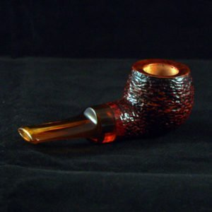 Rustic Stubby Pot Tobacco Pipe by Kraig Sederquist