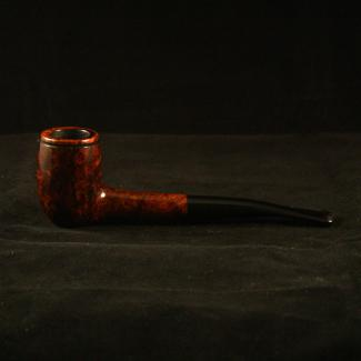 Smooth billiard tobacco pipe by Kraig Sederquist