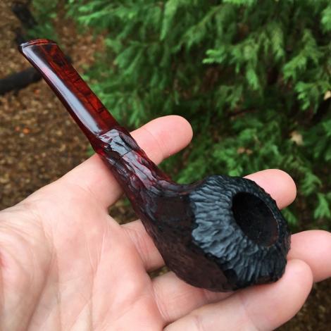 The Sierra Devil Rustic Tobacco Pipe