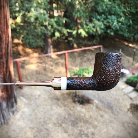 Glen Aulin Billiard Tobacco Pipe by Kraig Sederquist - SederCraft