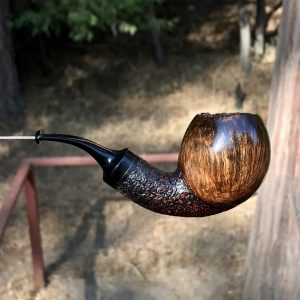 Rustic Danish style tobacco pipe made by Kraig Sederqusit
