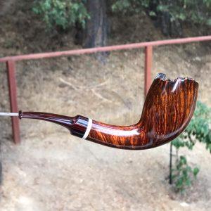 Cedar Ridge Danish Style tobacco pipe by Kraig Sederquist